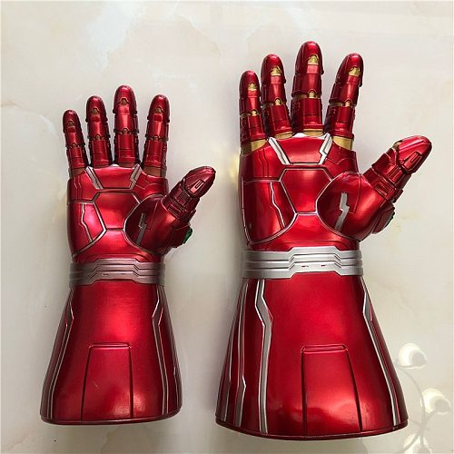 Gauntlet  Gloves   War Cosplay Prop  LED PVC Gloves Toys Kids Halloween Party Adult 2019