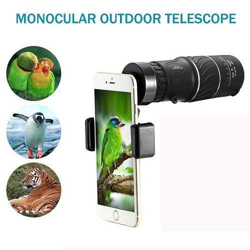 Portable 16 X 52 High Over Binoculars Telescope Monocular 66 / 8000M Plastic Binoculars Outdoor Mini Outdoor Sports Telescope