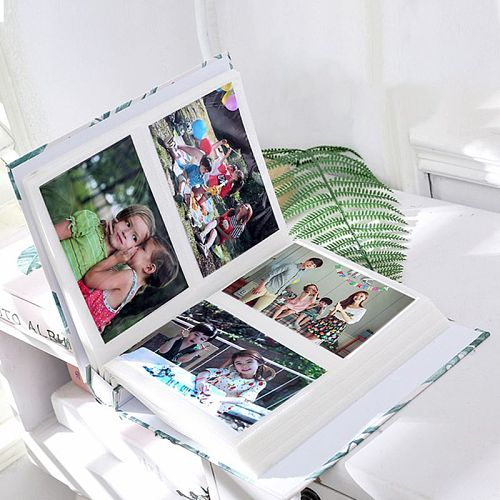 4D Large 6 Inch Photo Album 100 Sheets Scrapbook Paper Baby Family Scrapbooking Albums Wedding Foto DIY Craft Dropship New