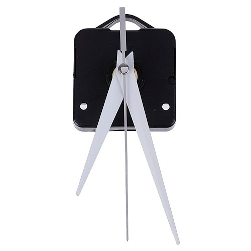 1set Silent Large Wall Clock Quartz Movement Mechanism Black And Red Hands Repair Kit Tool Set With Hook