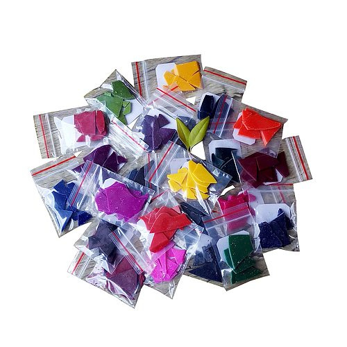 24PCS Handmade Candle Dye Gentle Natural Safe Soy Wax Dye DIY Candle Soap Coloring Matter For Handcraft Accessories