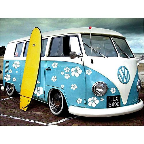 Full 5D Diy Daimond Painting Cross-stitch VW 3D Diamond Painting Full Rhinestones Paintings Embroidery Gifts
