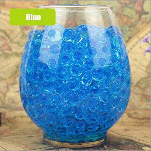 100pcs Large Hydrogel Pearl Shaped Crystal Soil Water Beads Mud Grow Ball Wedding Kids Toy Growing Water Balls