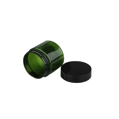 30pcs 50g Green Cosmetic Sample Pot Empty Cosmetic Containers Jars Box Nail Art Bead Storages Makeup Cream Balm Containers