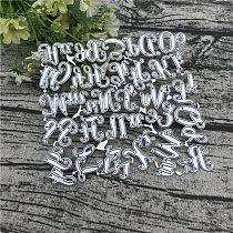 Alphabet Letter Number Metal Cutting Dies for DIY Scrapbooking Album Paper Cards Decorative Crafts Embossing Die Cuts