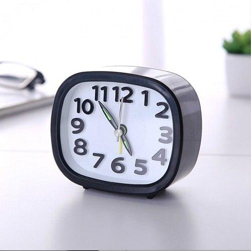 Kids Alarm Clock Desk Watch Bedside Table Clocks Needle Lovely Mini Mute Portable Home Decor Sveglia Camera Da Letto