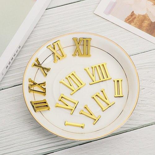 1SET Clock Numerals Practical Arabic Number DIY Bell Parts Repair Restore Replacement Digital Gadget Home Decoration Accessories