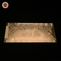 WR Metal Gold Foil UAE Currency Banknotes UAE 1000 Dirham Golden Craft Gold Plated Gift Banknote Business Promotion Gift