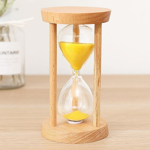 Hourglass Timer for Children 10/15/30 Minutes and A Half Hour Sand Leakage Creative Personality Small Ornaments Home Decorations