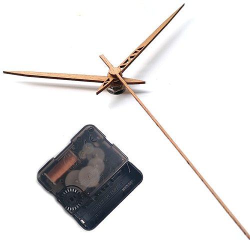 Japan Suzuki 12inch Wooden Clock hands Quiet Quartz Clock Movement Mechanism with pointers Parts Kit DIY Wall Clock Accessories