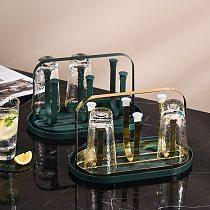 Iron Hanging Cup Rack Kitchen Living Room Household Fashion Simple Glass Storage Rack Mug Inverted Drain Shelf