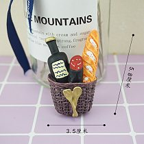 Bionic Food Fridge Magnet 3d Creative Simulation Food Cute Refrigerator Magnetic Stickers Magnetic Photo Sticker Decoration Gift