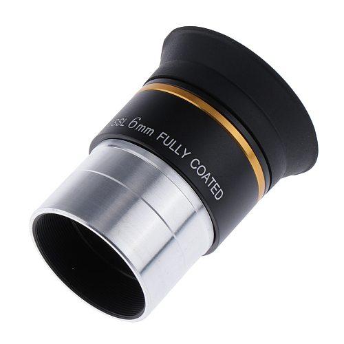 "1.25"" 31.7 mm Plossl 6mm Eyepiece Lens Multi-coated for Astronomy Telescope"