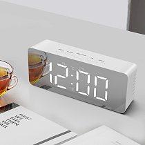 Multi-Function LED Table Clock Digital Modern Mirror Alarm Clocks For Office Home Decoration Electronic Desk Clock Reloj Mesa