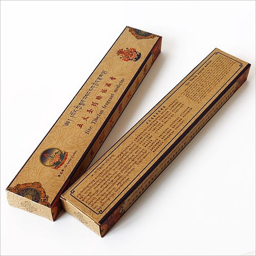 Tibetan Medicine Incense Sticks Home Aromatherapy,Rinpoche Blessing Ancient Aroma from The Holy Land