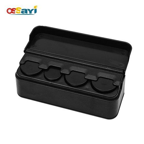 Bus Taxi Car Coin Changer Coin Dispenser Plastic Coin Box Bank Storage Wallet Organizer Holder For 1.9 2.5 2.7cm Coin Money Box