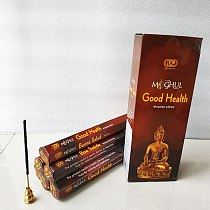 One Small Box Good Health Indian Stick Incense for Healty Room Yoga Meditation Sticks Incense Bulk Gift Tibetal Temple Incense
