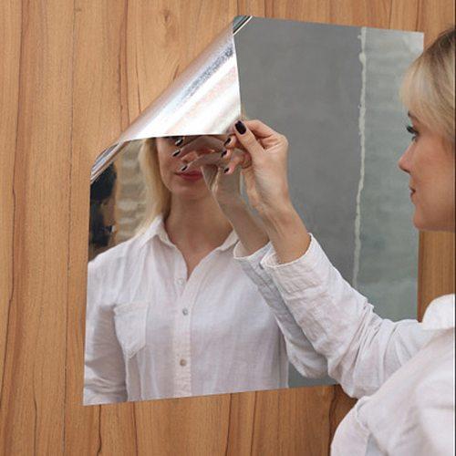 D Soft Mirror Mirror Sticker Mirror Full Body Mirror Practice Haha Mirror Self-Adhesive Wall Stickers Handmade mural miroir