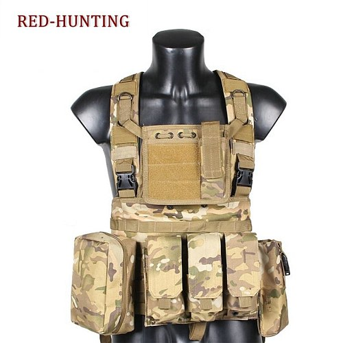 4 colors New Military Tactical Vest Paintball hunting game Officer uniform professional Wear Armor Vest CS Outdoor training