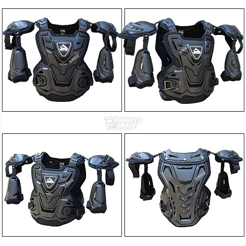 CE Motorcycle Body Armor Motocross Chest Back Protector Vest Motorcycle Jacket Racing Protective Body Guard MX Armor
