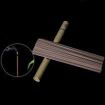 20g/Tube Pure Natural Wormwood Incense Stick Laoshan Sandalwood Incense Sticks Indoor Good for Sleep Health 21cm