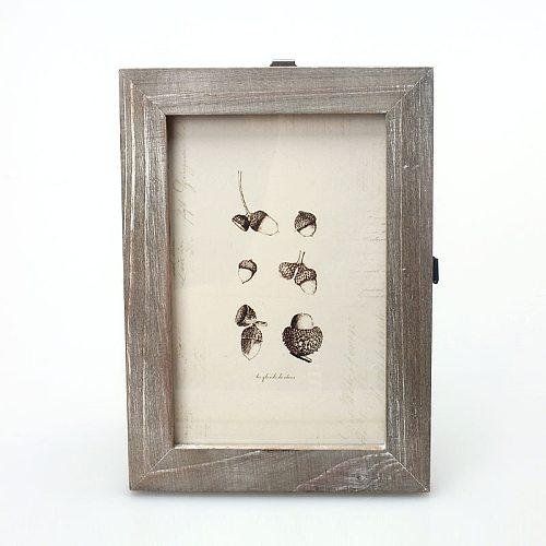 1PC Photo frame 5 colors 17.6X12.6cm creative diy Vintage Photo Frame Home Decor Wooden Wedding casamento Pictures Frames
