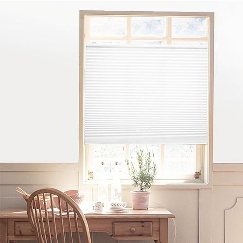 Self-Adhesive Pleated Blinds Curtains for Bathroom  Half Blackout  Windows Curtains Shades Blinds Shades Shutters