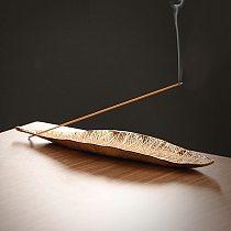 Incense Burner for Home-Decor Metal Crafts Incense Tray Incense Sticks Portable Ornament Insence Burner Holder