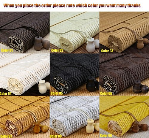 new Wholesale Window Roller Blind  Bamboo Blinds  roller shutters bamboo roller shades black roller shades for windows