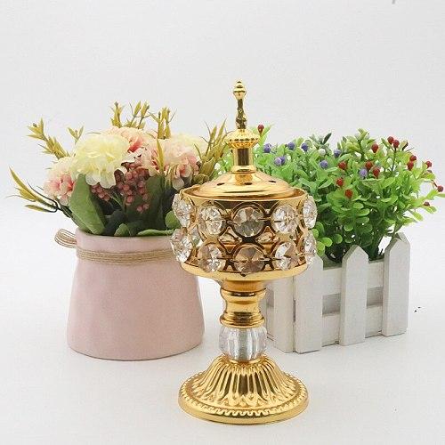 Delicate Incense Burner Arabic Middle East European Style Incense Burner For Home Decoration Home Decorative Ornament
