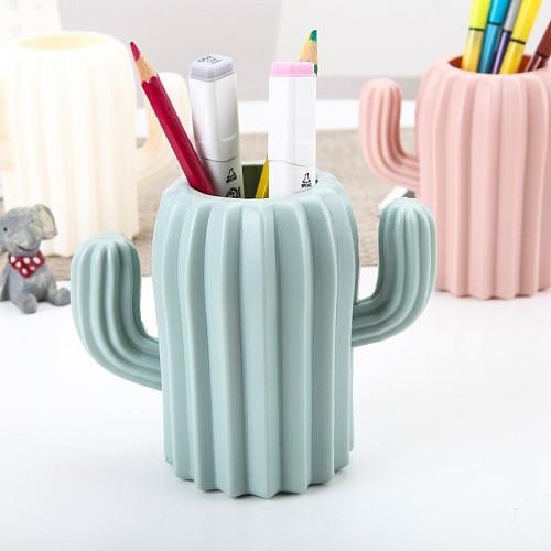 Can Be Used As a Vase/Pen Holder, Desktop Cactus, Desk, Multifunctional Storage, Flower Arrangement, Vase, Pot, Decoration