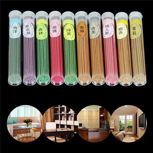50 Sticks Incense Burner Fragrance Spices Natural Aroma Sandalwood Air Freshener Drop Ship