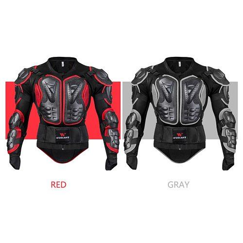WOSAWE Motorcycle Armor Jacket Protective Gear GHOST RACING motorcross Armor Protector Snowboard Ski Skate Motocross Jacket