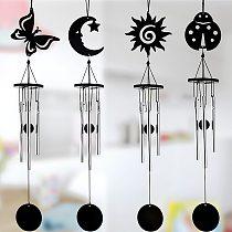 Creative Mini Iron Sheets Aluminum Rod Wind Chimes Room Metal Bedroom Ornaments Wind Chimes Pendants Home Decor Crafts для дома