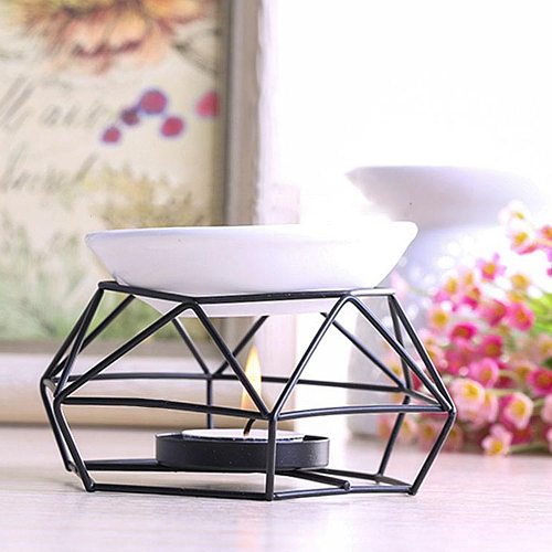 Oil Burner Holder Gifts And Crafts Aromatherapy Household Products Home Decorations Stainless Steel Aroma Burner