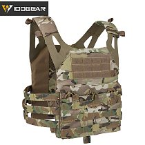IDOGEAR JPC Tactical Vest Airsoft Body Armor Jumper Plate Carrier MOLLE Paintball Military 500D Nylon Multicam