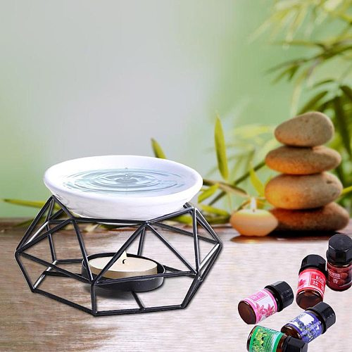 Stainless Steel Aroma Burner Yoga Room Profession Gifts And Crafts Party Supplies Essential Oil Burner Holder