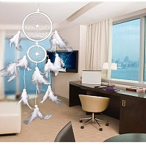 Dream Catcher Room Decor Feather Weaving Catching Up The Dream Angle Dreamcatcher Wind Chimes Indian Style Religious Mascot