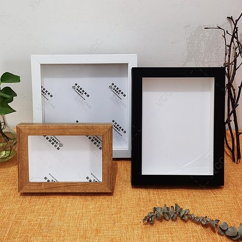 Nordic DIY Specimen Photo Frame Internal Depth 2cm For Displaying Three-Dimensional Works Picture Frame Photo Decor