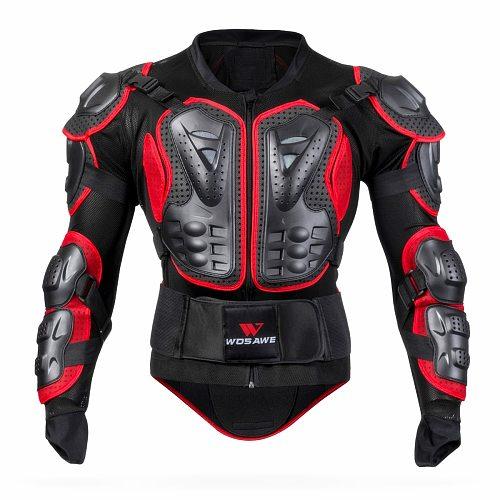 WOSAWE Waterproof Motorcycle Armor Jacket Body Protection Motocross Jacket Racing Riding Motorbike Protector Protective Gear