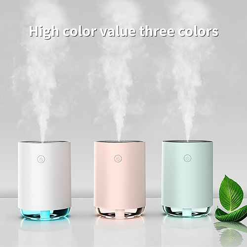 Usb Electric Air Humidifier Household Air Purifying Mist Maker Mini Portable Air Humidifier Cool Mist Maker For Home Gifts