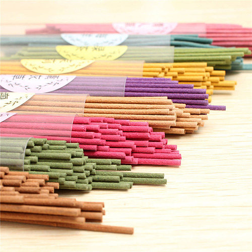 50 Sticks/box Natural Aroma Indoor Spices Sandalwood Clean Air incense Burners Aromatherapy Fragrance Spices Fresh Air