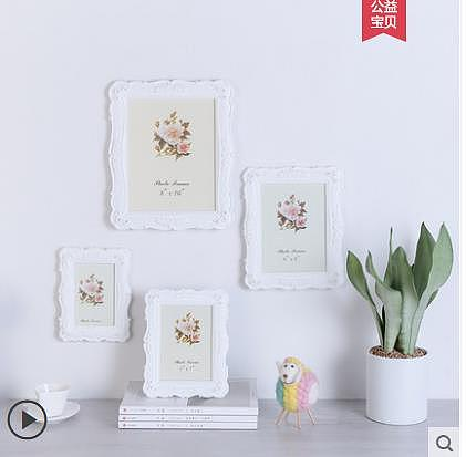 White European 6 Inch 7 Inch 8 Inch 10 Inch Photo Frame Combination Creative Photo Decoration Setting Modern Simple