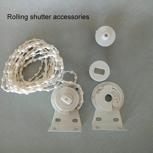 Bead Chain Curtain Manual Roller Blinds Shutter Accessories Home Decor Clutch 28mm Window Blind Drawstring