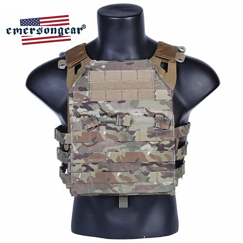Emersongear JPC Tactical Vest Body Armor Heavy Harness Molle Plate Carrier Military Army Airsoft Wargame Hunting Combat Gear