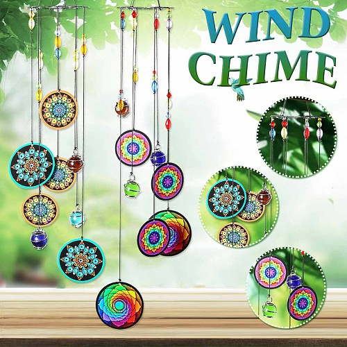 Outdoor Living Wind Chimes Yard Gardecn Metal Antique Windchime Wall Hanging Window Curtains Pendant Home Decor Gifts
