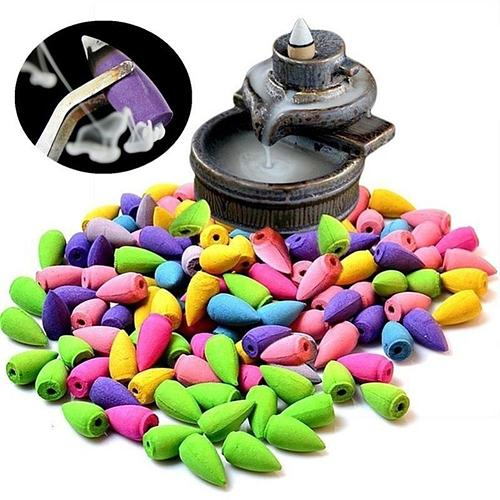 HOT SALES!!! 50Pcs Mixed Scent Fragrance Towers Incense Cone Sandalwood Fresh Air Aromas Spice Wholesale Dropshipping New Arriva