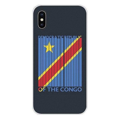 Congo flag Banner For Samsung Galaxy A3 A5 A7 A9 A8 Star A6 Plus 2018 2015 2016 2017 Accessories Phone Cases Covers