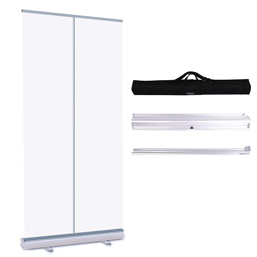 SWANSOFT Clear Floor Standing Sneeze Guard for Cafes Cashiers Office Avoid droplets