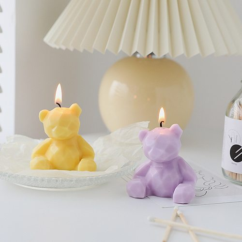 1pc Baby Bath Cartoon Many kinds Bear Candles Cake Birthday Topper Insert Creative Birthday Party Dessert Table Candle Ornaments
